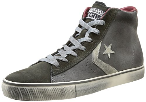 Converse Pro Leather Vulc Mid Suede -  para hombre Charcoal/Iron/Vap.Grey