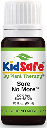 Plant Therapy KidSafe Sore No More Synergy Essential Oil 10 ml (1/3 oz). 100% Pure, Undiluted, Therapeutic Grade