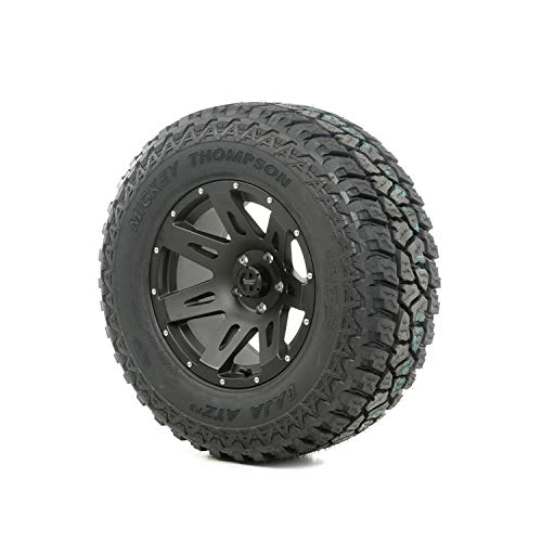 Rugged Ridge 15391.16 XHD Wheel/Tire Package Incl. 17 in. XHD Wheel Black Satin 315/70R17 Mickey Thompson ATZ P3 Tire Mounted/Balanced w/TPMS Sensor XHD Wheel/Tire Package