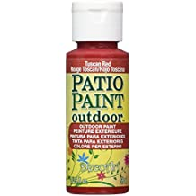 DecoArt Patio Paint 2-Ounce Tuscan Red Acrylic Paint
