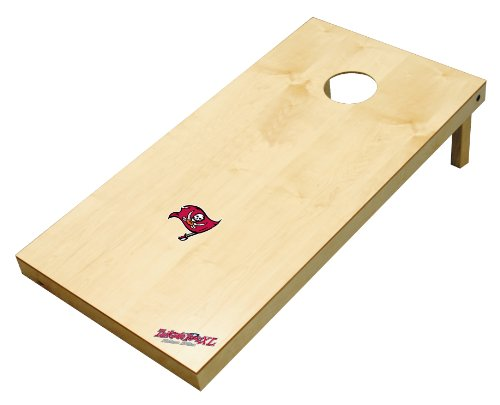 (Wild Sports NFL Tampa Bay Buccaneers 2' x 4' Authentic Cornhole Game Set)