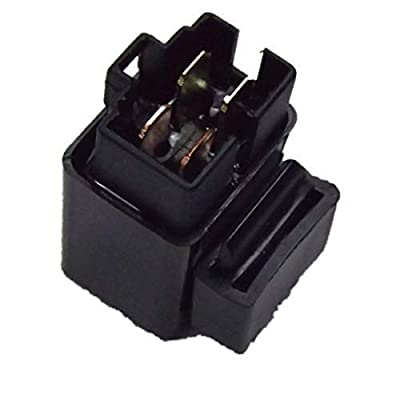 WFLNHB Neutral Relay Solenoid Starter Fit for Yamaha YFM 350 Raptor Warrior 1987-2013 Repl.# 3GD-81950-01-00: Automotive