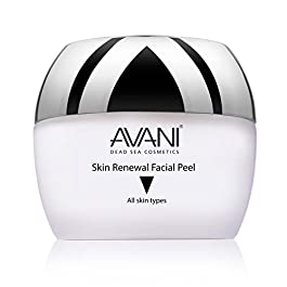 Avani Classics Skin Renewal Facial Peel – Brightening & Anti-Aging Formula – Exfoliating Cream with Vitamin C & E & Dead…