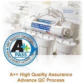 A++ High Quality Assurance Advance QC Process