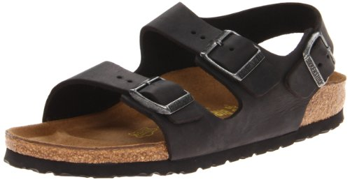 Birkenstock Women's Milano Leather Slingback Sandal,Black,36 EU/5 M US (Birkenstock Milano Leather)