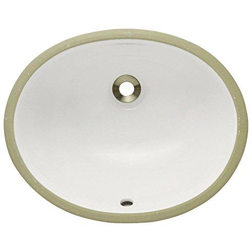 Only Bisque (UPS-Bisque Undermount Porcelain Bathroom Sink, Sink Only)