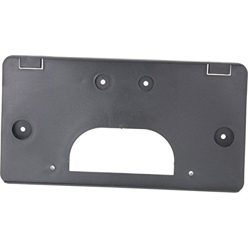 OE Replacement New Front License Plate Mounting Bracket Replacement for 2003-2006 Chevrolet Silverado GMC Sierra 1500 Truck