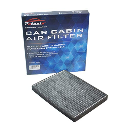 POTAUTO MAP 3017C Heavy Activated Carbon Car Cabin Air Filter Replacement compatible with SUZUKI, Grand Vitara