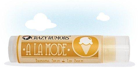 Crazy Rumors Banana Split Lip Balm