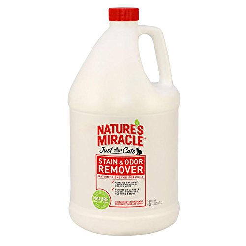 Nature's Miracle Just For Cats Stain And Odor Remover, Gallon (515804) by Nature's Miracle