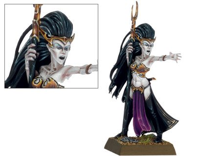 Games Workshop Warhammer WFB: Dark Elf Supreme Sorceress