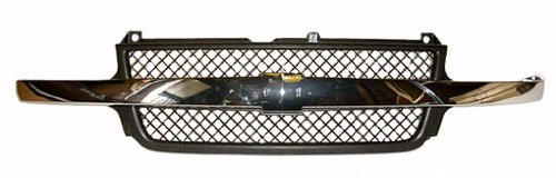 OE Replacement Chevrolet Silverado Pickup Grille Assembly (Partslink Number GM1200523) Unknown