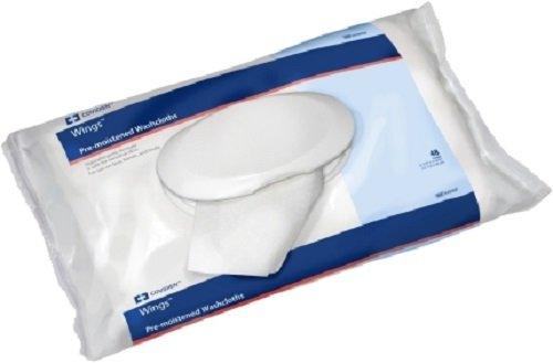 Wings Personal Cleansing Washcloths - KENDALL HEALTHCARE 686399SP Wings Personal Cleansing Washcloths Soft Pack
