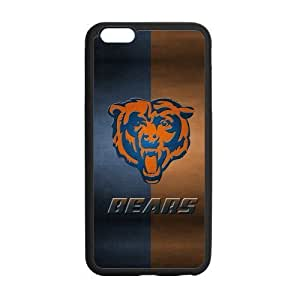 Custom Stitching Chicago Bears Phone Case Laser Technology for iPhone 6 Plus Designed by HnW Accessories
