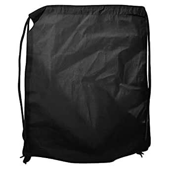 Bags By Jassz Pine Organic Cotton Drawstring Backpack Bag (Pack of 2) (UK Size: One Size) (Black)