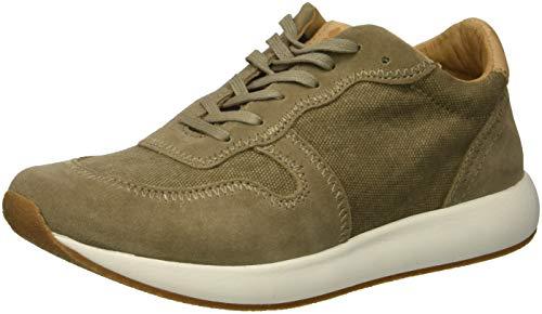 Lucky Brand Kids Boys' TANLEIGH Sneaker Brindle/Laguna 10 Medium US - Brindle Footwear