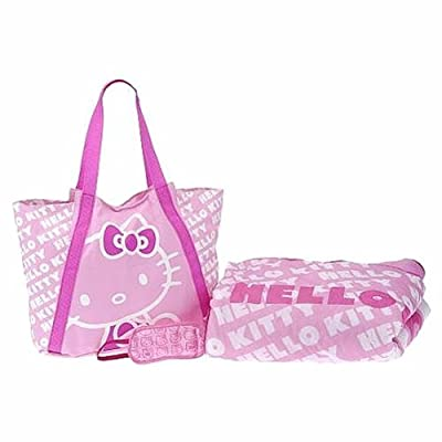 Sanrio Hello Kitty Sleepover Bag - Hello Kitty Slumber Bag (Pink) : Hello Kitty Sleeping Bag : Baby