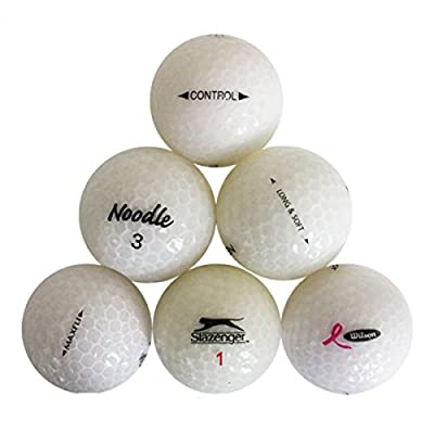 Value Crystal White Mixed Mint 12 Used Golf Balls