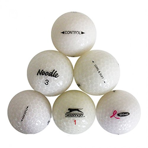 - Value White Crystal Pro Brand Mix White Crystal Mix Mint Quality Golf Balls - 24 Pack