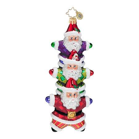 Christopher Radko Star Bright Stack Ornament