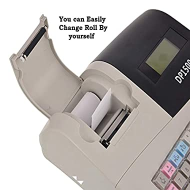 swaggers Pixel Dp 1500 Currency Register/Billing Machine/6000 Item Capacity 7