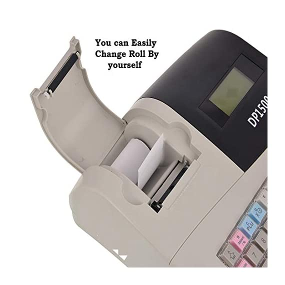 swaggers Pixel Dp 1500 Currency Register/Billing Machine/6000 Item Capacity 2