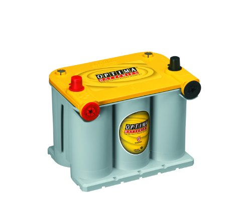 Yukon Gmc Door Xl 1500 - Optima Batteries 8042-218 D75/25 YellowTop Dual Purpose Battery