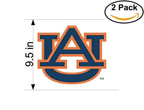 sity Vinyl Sticker Decal Logo NCAA 2 Huge Bumper Window Stickers 9.5 Inches ()