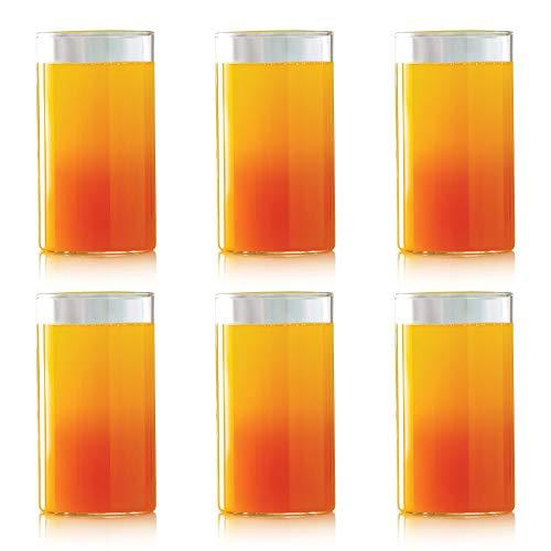 Borosil Set of 6 Vision Large Glass, 350 ml
