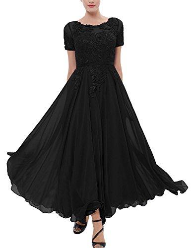 Lorderqueen Chiffon Bridesmaid Dress Tea Length Mother of the Bride Dresses