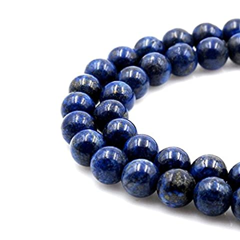 AAA Natural Lapis Lazuli Gemstone Loose Round Beads 8mm Spacer Beads For Jewelry Making 15.5