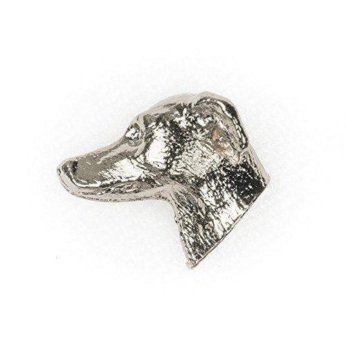ITALIAN GREYHOUND Made in U.K Artistic Style Dog Clutch Lapel Pin - Charm Dog Greyhound
