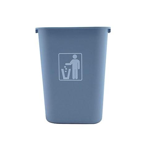 Cubo de Basura Cubo de Basura Papelera de plástico Grande 15 ...