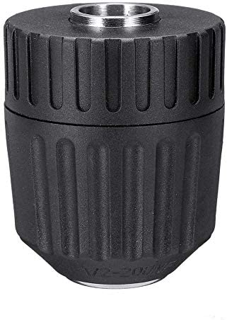 L-YINGZON Drill Bit Set 10pcs Air Impact Socket Wrench Adapter Set 1/2 Inch Square Drive Metric Drill Chuck Adapter for Rotary Tool Drill Accessories