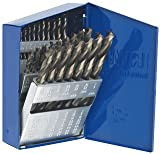 29-piece High Speed Steel Turbomax Drill Bit Sets with Turbo Pt. Tip-2Pack