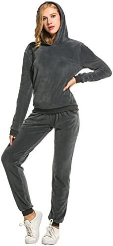 Unibelle Damen Trainingsanzug, Hausanzug Velours