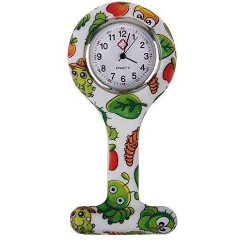 Amazon.com: Pocket Watch Silicone Nurse Clip-on Fob Brooch Pendant Hanging Pocket Watch reloj de bolsillo enfermeras Regalos Gift #D: Watches
