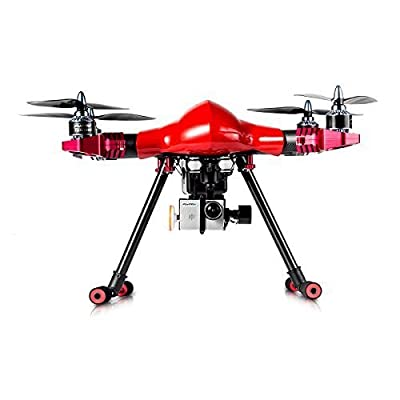 FLYPRO PX400 PRO 2 Professional Drone Quadcopter with FPV, HD Video Camera and Indoors Vision Positioning System, Red