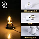 Accessory Cord with One LED Light Bulb, 6 Feet UL