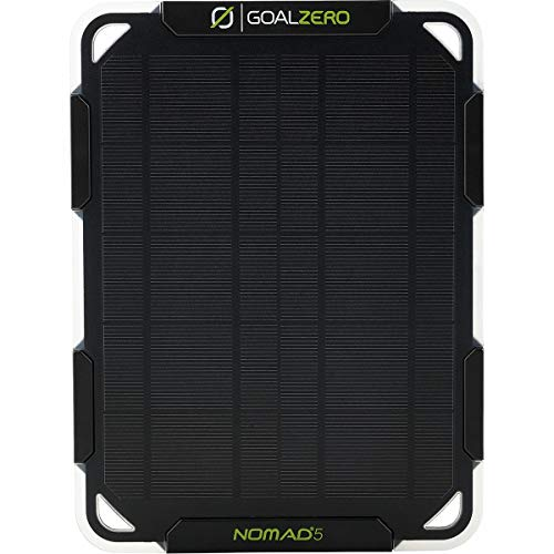 Goal Zero Nomad 5 with FLIP 12 Solar Kit One Color, One Size