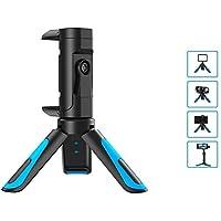 BINDEN Mini Tripode JJ08 de Viaje para Smartphone, Cámara Profesional, Luz LED o Videocámara, Rotación 360º, Vertical u Horizontal
