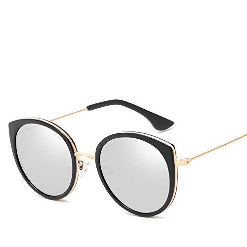 NO6 Sol RyimsD Elegante Plástico N01 Metal Color Gafas Temperamento Señora Marino Elegante Gafas Sol Gafas De Visera De xnxZrawf