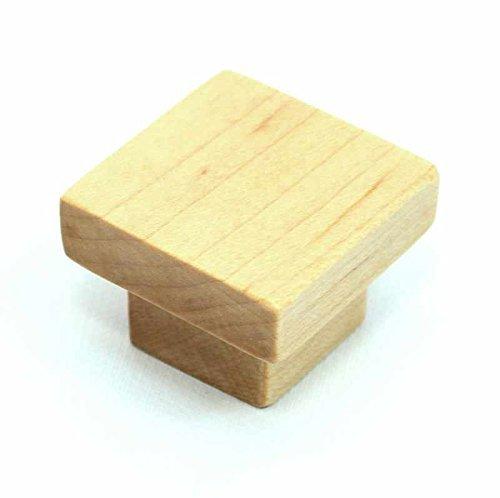 Natural Wood Craftsman Style Knob