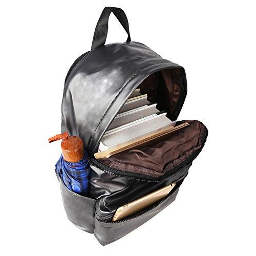 ZORFIN Fashion Nylon Backpack for Women&Men Rucksack Purse School Bags for Girls Waterproof Book Bag by ZORFIN (Image #4)