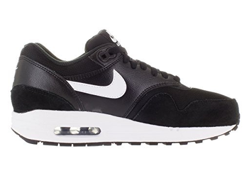 Nike Womens Air Max 1 Essensielle Joggesko Sort / Hvitt