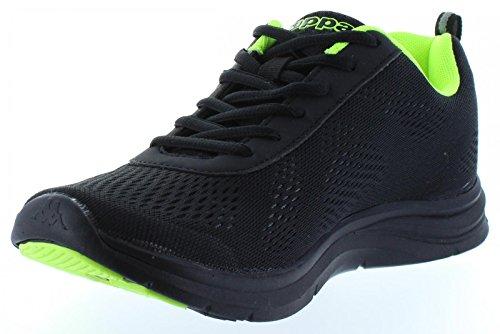 Scarpe sport per Uomo e Donna KAPPA 302G370 CAMBUS A54 BLACK-GREEN