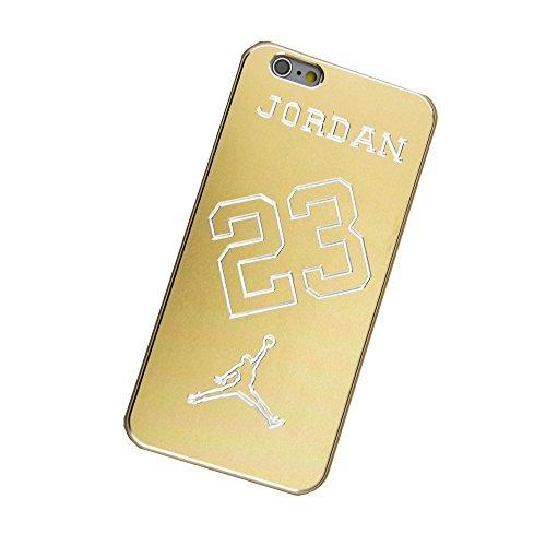 SuperBZ Apple iPhone 5S Air Jordan Gold Case, Michael Jordan Chicago Bulls #23 NBA Sports Hard Case Cover Shell for Apple iPhone 5S (jordan 4)