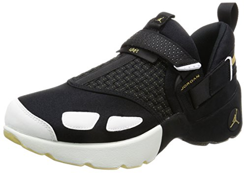Nike Mens Jordan Trunner LX BHM Black/Gold-White Neoprene Size 10 (Mens Air Jordan Trunner Lx Training Shoes)