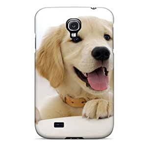 New Design Shatterproof Myc2757jcDC Case For Galaxy S4 (golden Retriever Puppy)