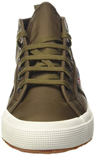 2754 Homme Vert fwhite A08 Baskets New Nylm Hautes Militarygreen Superga xn7w6qx